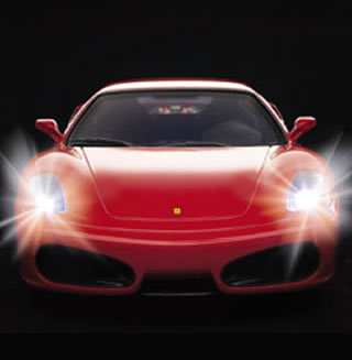 REALDRIVE SuperBeam Ferrari F430