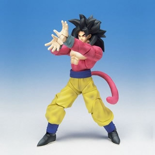 Dragonball Z Hybrid Action Figure Super Saiyan 4 Goku
