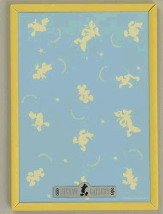 Disney 108 Piece Jigsaw Puzzle Panel Yellow (18.2 x 25.7cm)