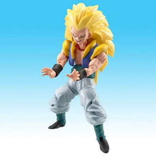 Dragonball Z Hybrid Action Figure Super Saiyan 3 Gotenks
