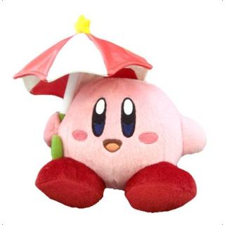 Kirby - Parasol Kirby Plush (S)