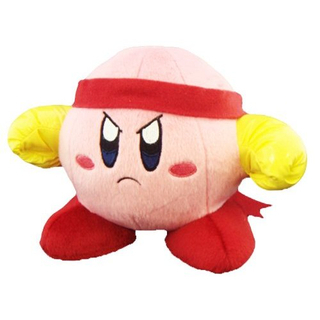 Kirby - Fighter Kirby Plush (S)