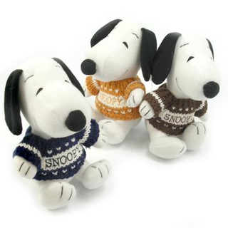 Snoopie - Sweater Plush Set of 6