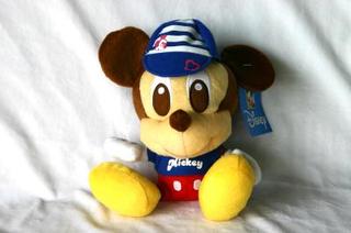 Stylish Disney Character Plush - With Shirt & Cap Mickey