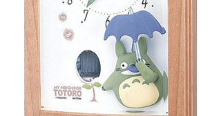 My Neighbor Totoro - Music Box Alarm Clock R752N
