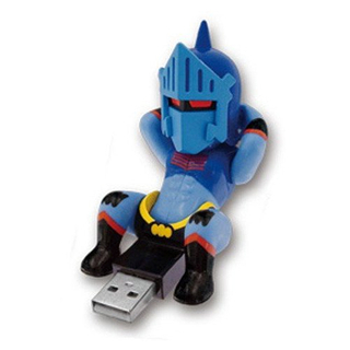 USB Sit-Ups Figurines - Kinnikuman (Robin Mask)