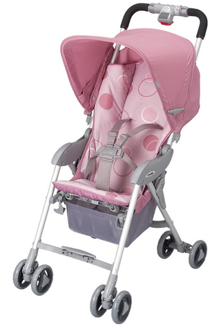 Combi Stroller - Carpatto RW-240 (DP/Dot Pink) - Best Buy Japanese ...