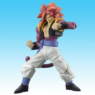 Dragonball Z Hybrid Action Figure Super Saiyan 4 Gogeta