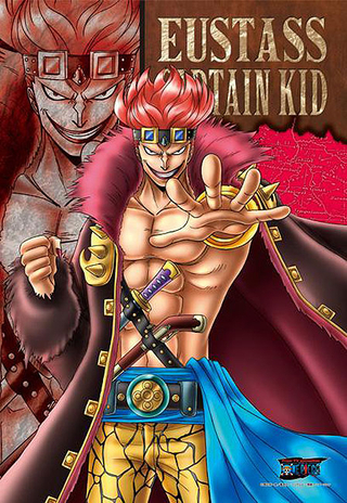 "One Piece - Eustass ""Captain"" Kid 300 Piece Jigsaw Puzzle"