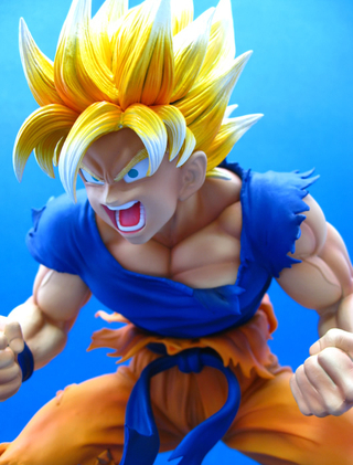 Dragonball - Super Saiyan Son Goku (Chozo Art Collection)
