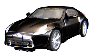 Transformers - Alternity - Megatron/Nissan Fairlady Z (Diamond Black)