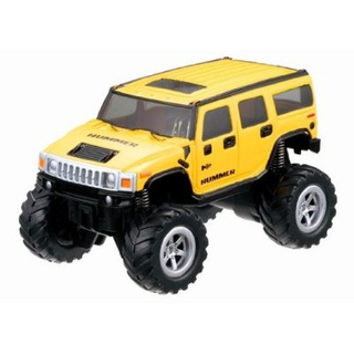 1/58 REALDRIVE nano - Hummer H2 (Yellow)