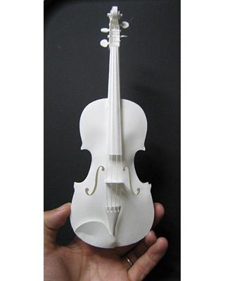 HANDSON Violin Paper Craft Kit PePaKuRa