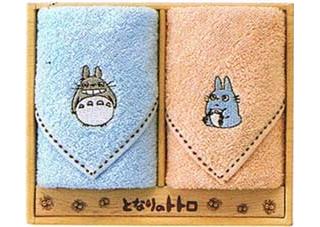 My Neighbor Totoro - Mini Towel Set  (Ototoro & Chutotoro)