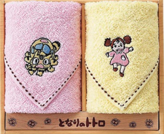 My Neighbor Totoro - Mini Towel Set  (Catbus & Mei)