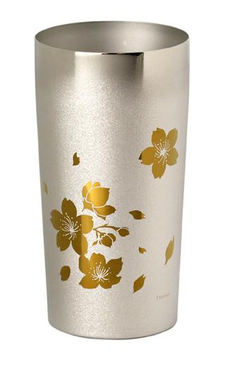 Titanium Double-Wall Tumbler - PREMIUM  (Sakura Large)
