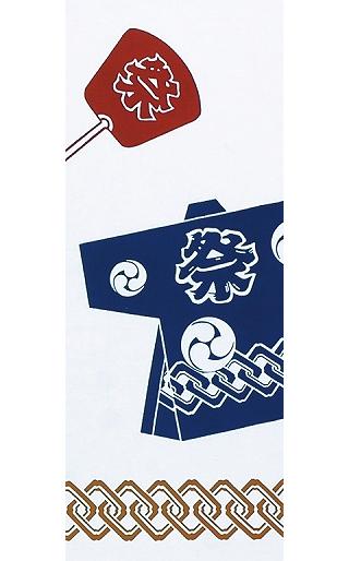 Summer Scenes - Tenugui (Japanese Multipurpose Hand Towel) - Festival