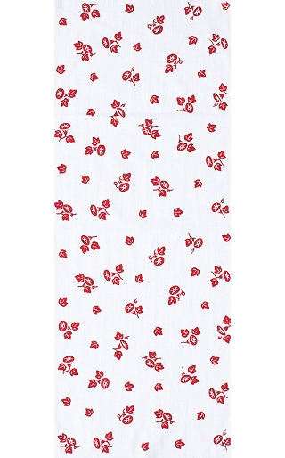 Petit Morning Glories - Mini Tenugui (Japanese Multipurpose Hand Towel)