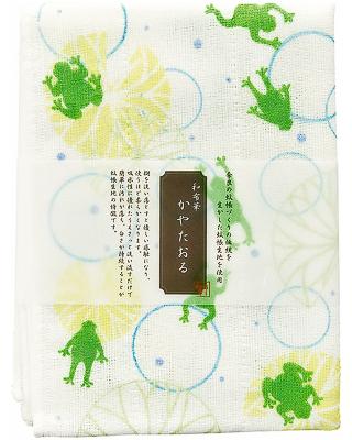 Kaya (Net Fabric) Towel  - Frog