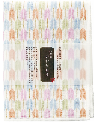 Kaya (Net Fabric) Towel  - Arrows