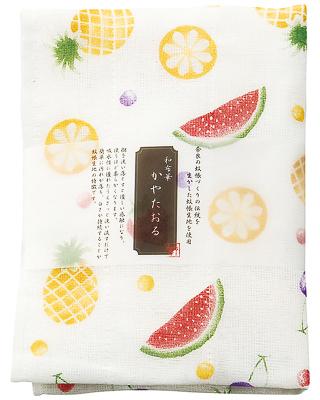 Kaya (Net Fabric) Towel  - Fruits