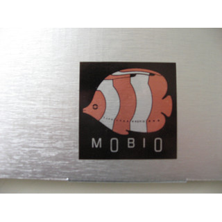 MOBIO Butterfly Fish Hanging Mobile (Orange/Silver)