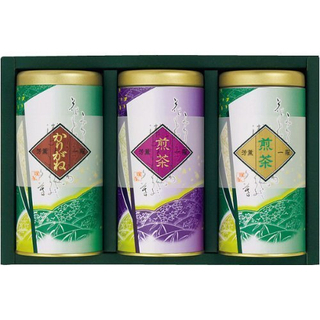 Uji -  Sencha and Kariganecha Gift Set