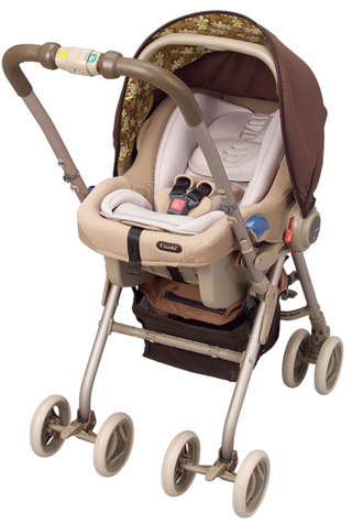 EX COMBI Multi 5 Way Baby Stroller (Coco Beige) - Best Buy ...