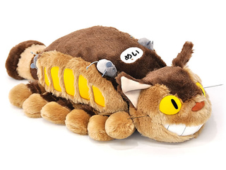 Soft Neko-Bus (Cat bus) Plush (L)