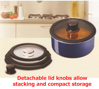 Tefal (T-fal) - INGENIO Stackable Cookware Set  (Sapphire Midi)