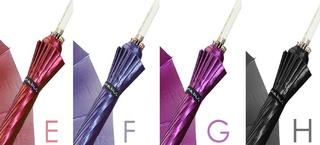 mabu - Ultralight 16 Rib Umbrella Irodori (Tourmaline Pink)