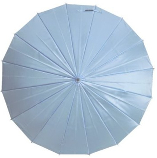 mabu - Ultralight 16 Rib Umbrella Irodori (Turquoise Blue)