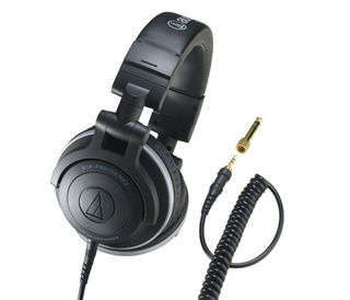 Ableplanet NC2000 Studio Monitor Headphones, Active Noise Cancelling Headphones, Wired Over-ear Headphone With...