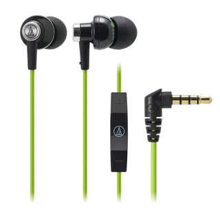 Audio-Technica - ATH-CK400i With mic and remote for iPod/iPhone/iPad (BGR)