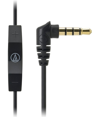 Audio-Technica - ATH-CK400i With mic and remote for iPod/iPhone/iPad (BK)