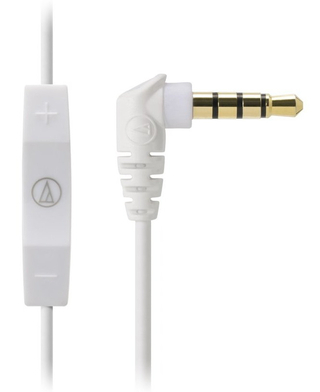 Audio-Technica - ATH-CK400i With mic and remote for iPod/iPhone/iPad (PK)