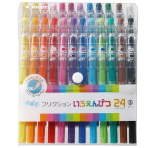 Pilot - FriXion 24 Color Pencil Set (Fine)