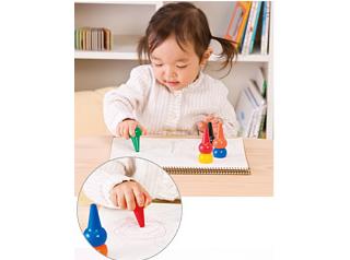 BabyColor - 12 Color Crayon Set