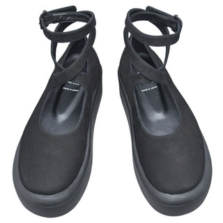 BELLY BUTTON No.871 / Black Nubuck Shoes