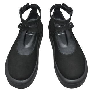 TOKYO BOPPER No.872 / Black Nubuck Shoes