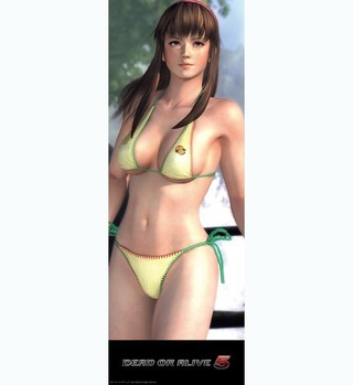 Tecmo Koei Games, Dead or Alive5, Hitomi, 3D, Mouse Pad, xbox361, Japan