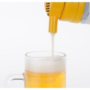 Takara Tomy, Beer, Nodogoshi, yellow, Beer Pump, Japan