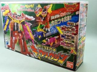 Bandai, Zyuden Sentai, Kyoryuger, DX, Kyoryujin, Dinosaur, Action Figure, POWER RANGERS, Japan
