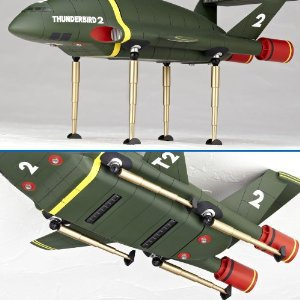 Kotobukiya, Tokusatsu, Revoltech, SERIES No.044, THUNDERBIRDS 2, Japan