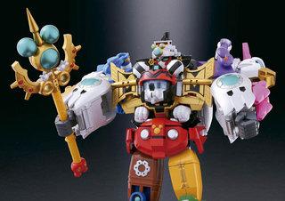 Bandai, Tamashii, Chogokin, Disney, DX, King Robot Mickey, Friends, Action Figure, Japan