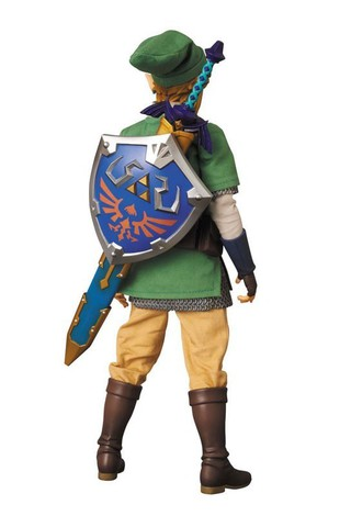 Medicom Toy, Real Action Hero, The Legend of Zelda, Skyward Sword, Link, Action Figure