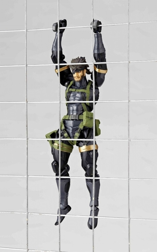Kaiyodo, Revoltech, METAL GEAR SOLID, PEACE WALKER, Snake, action figure, japan