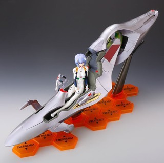 Rebuild of Evangelion, Entry Plug, Rei Ayanami, Interior, Complete Figure, anime ,japan