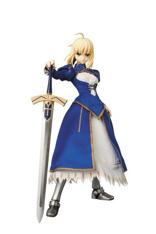 Medicom Toy RAH Real Action Heroes Fate/Zero Saber Action Figure (w/ Magic square sheet)
