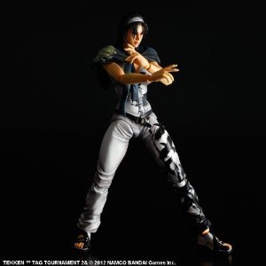 Square Enix Tekken Tag Tournament 2 Play Arts Kai Jun Kazama Action figure